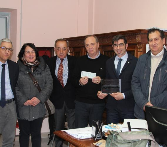 San Ginesio, solidarietà post-sisma da parte del Rotary di Cortona: donati 1.500.00 euro