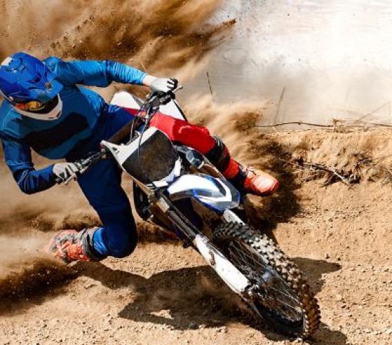 Cingoli, cade al Crossodromo Tittoni con la moto: pilota trasportato a Torrette