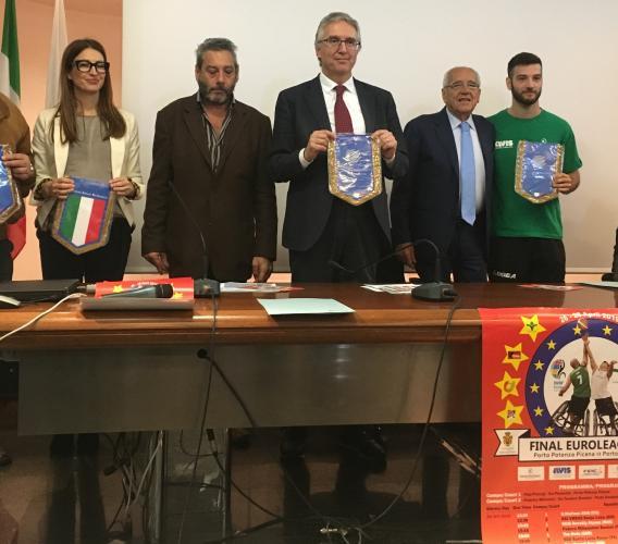 Basket in carrozzina, finali di Euroleague 2: dal 26 al 28 aprile a Porto Potenza Picena e Porto Recanati