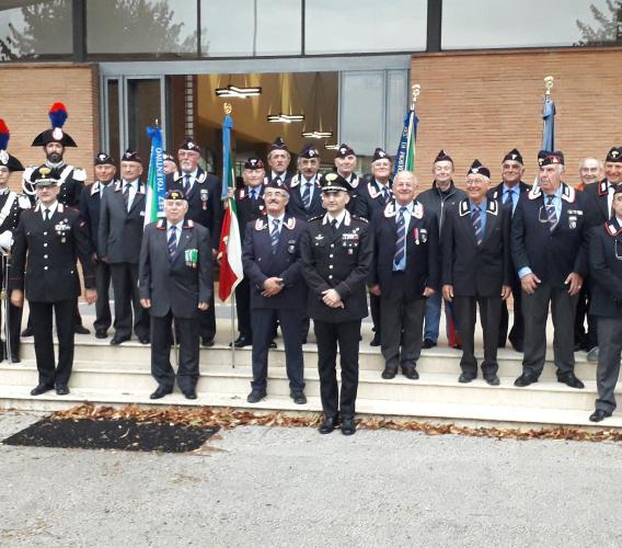 I carabinieri ricordano il sacrificio di Salvo D'Acquisto a Piediripa
