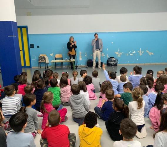 """""""Libriamoci"""", l'Istituto """"Lucatelli"""" di Tolentino rende onore a Gianni Rodari"""