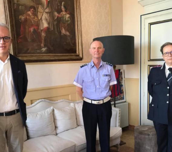 Civitanova, il vicecomandante della Polizia locale Damiano Micucci va in pensione