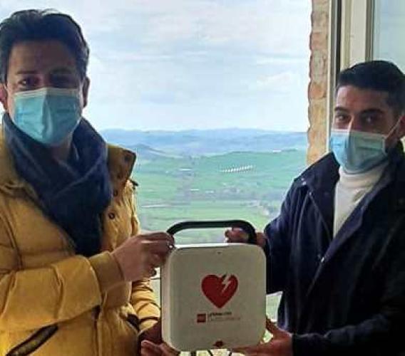 """A Treia arriva il primo defibrillatore pubblico: """"Sarà wi-fi e di semplice utilizzo"""""""