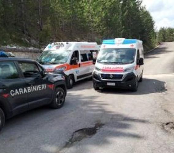 Ussita, giovane ciclista di 17 anni cade al Bike Park: trasferito in ospedale