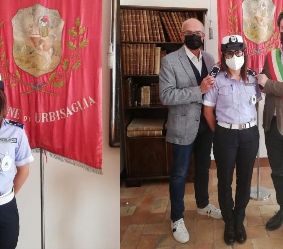 Urbisaglia, arriva la qualifica di assistente per l'agente di Polizia locale Alessandra Spurio Deales