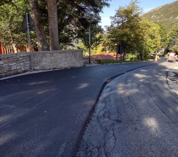 Al via gli interventi di asfaltatura sulla provinciale Fiastra-Bolognola: 150 mila euro di lavori