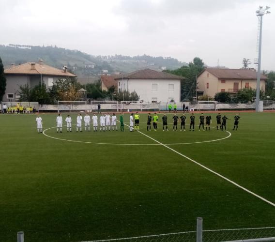 Prima C, Villa Musone raggiunto due volte: Corridonia strappa il pari