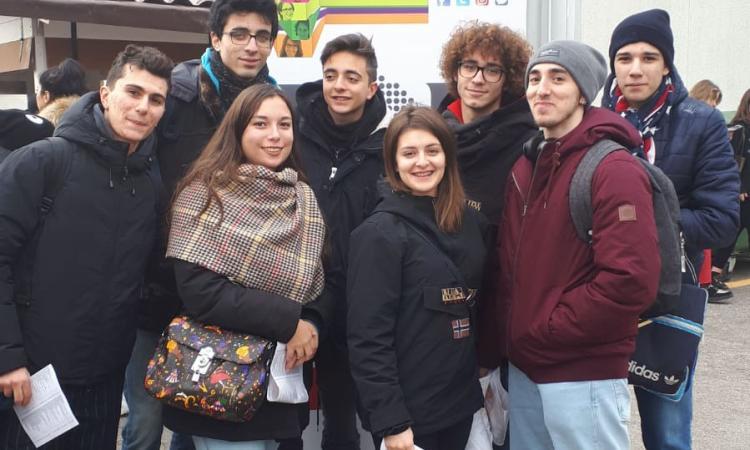 """Job&Orienta: l'Istituto """"Ricci"""" di Macerata a Verona"""
