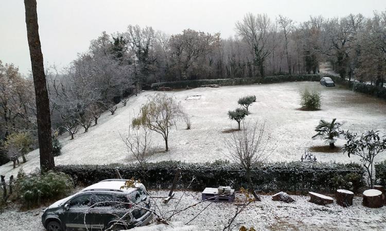 Vento e neve, allerta meteo prorogata sino al 25 marzo nelle Marche