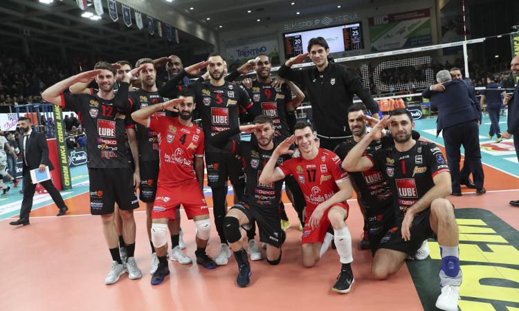 Volley SuperLega, Lube domenica ultima trasferta della Regular Season contro Castellana Grotte