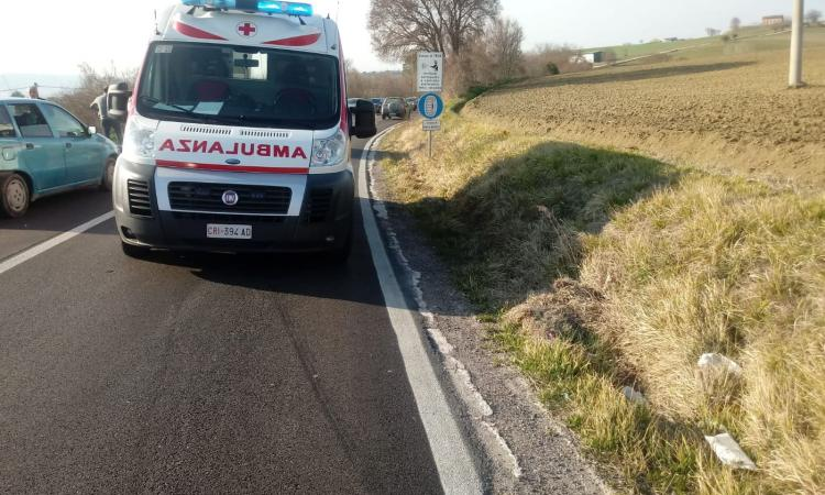 San Severino, frontale tra due auto: due feriti trasportati in Ospedale