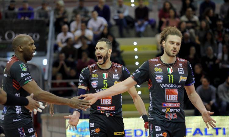 Lube Civitanova, svelato il calendario della prossima stagione: esordio a Verona