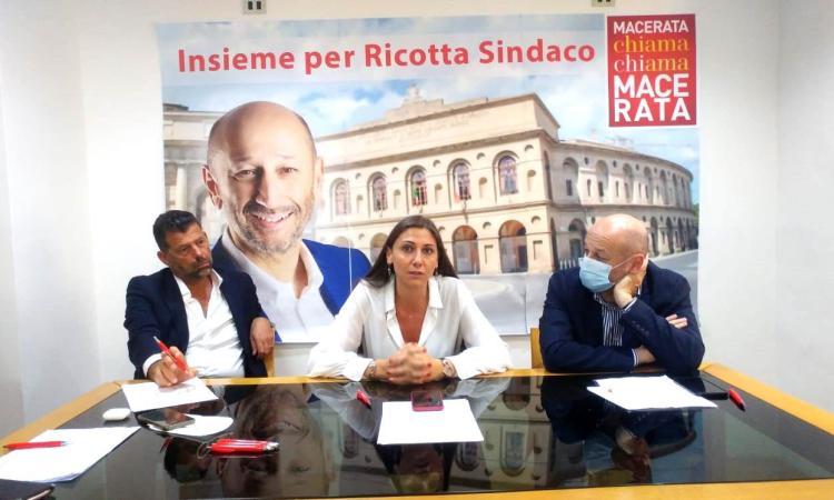 "Anna Ascani tira la volata a Mangialardi: ""Stop ai longobardi"". Ricotta: ""Parcaroli una mia copia"" (FOTO)"