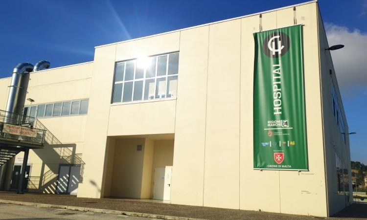 Coronavirus, tre decessi oggi nelle Marche: una vittima al Covid Hospital di Civitanova