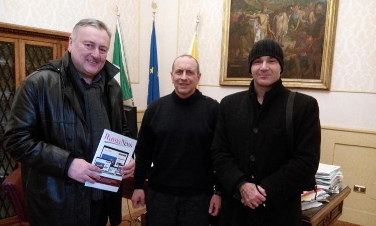 Civitanova, il sindaco incontra i referenti di Russia news