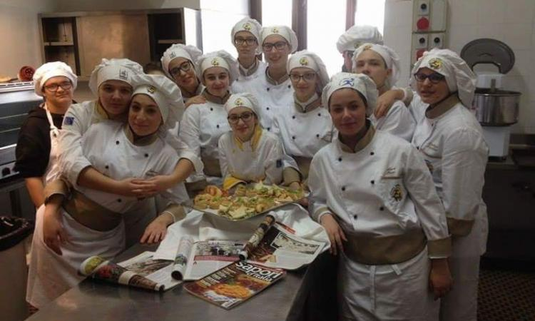 L'Istituto Alberghiero Varnelli festeggia Sant'Esuperanzio con un nuovo dolce