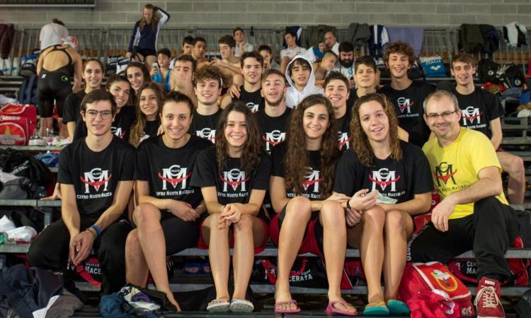 Centro Nuoto Macerata: ventiquattro atleti al campionato nazionale per salvamento