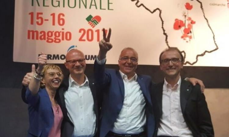 Sauro Rossi riconfermato al vertice della Cisl marchigiana