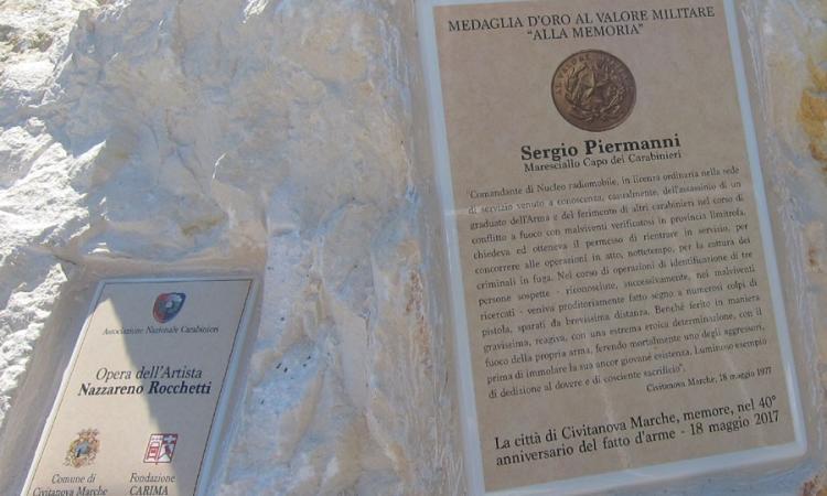 Civitanova: al via le celebrazioni per il Maresciallo Piermanni a 40 anni dalla scomparsa