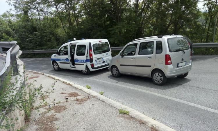 Tamponamento in via Mattei: due feriti