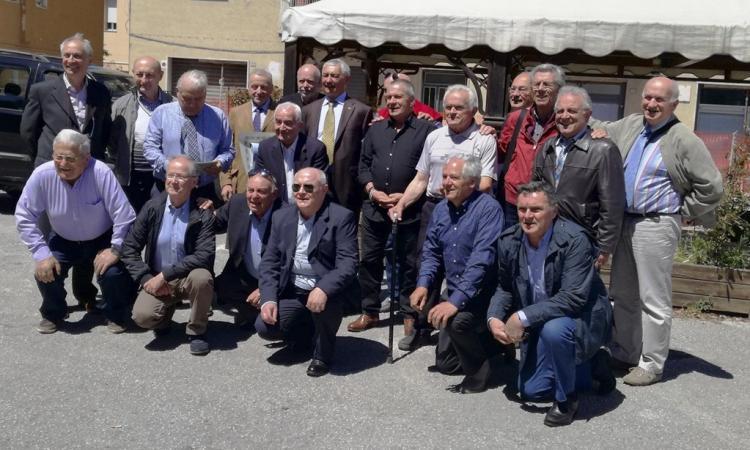 Festa 50 anni da diploma per alunni della 5c elettrotecnica dell'Itis Divini