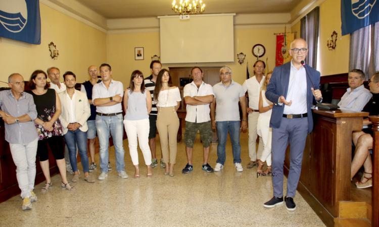 La nuova amministrazione di Civitanova saluta i dipendenti comunali