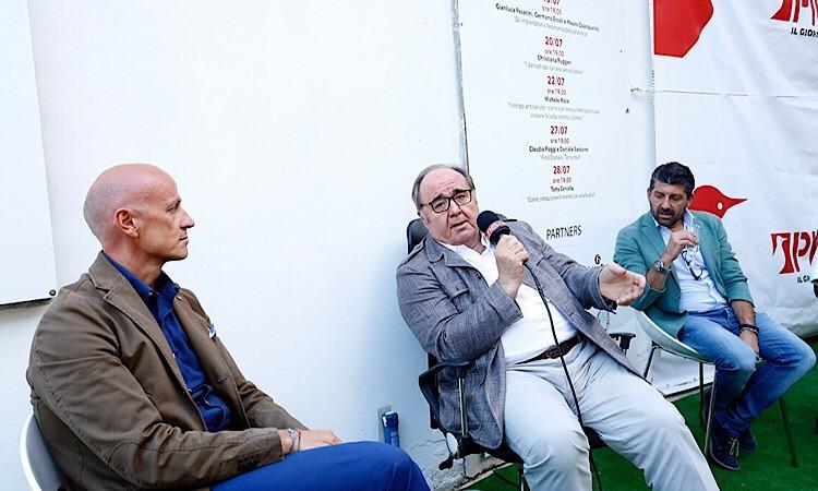 Ercoli, Pesarini e Quacquarini: interesse e consensi per gli imprenditori a confronto nel Cortile di Picchio News - FOTO - VIDEO