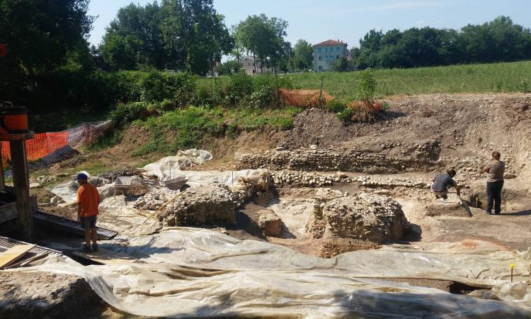 Urbs Salvia, completato lo scavo della struttura più antica