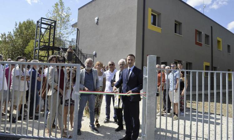 Inaugurato a Sambucheto il nuovo Centro socio educativo