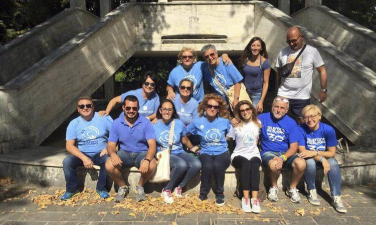 La Folgore Castelraimondo ricomincia gli allenamenti; donazioni dal Telefono Azzurro di Padova