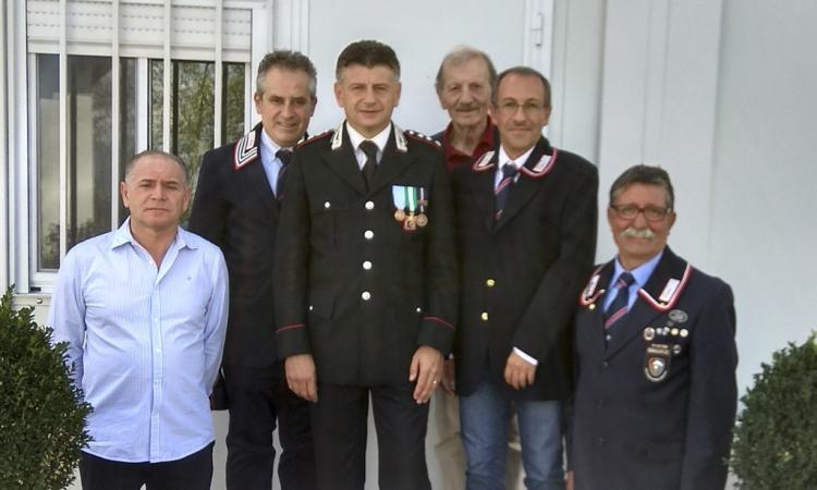 L'Associazione Nazionale Carabinieri di Camerino saluta il capitano Orlando