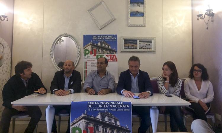 """Organizzata la Festa dell'Unità del Pd a Macerata: """"Iniziative di tutti e per tutti"""""""