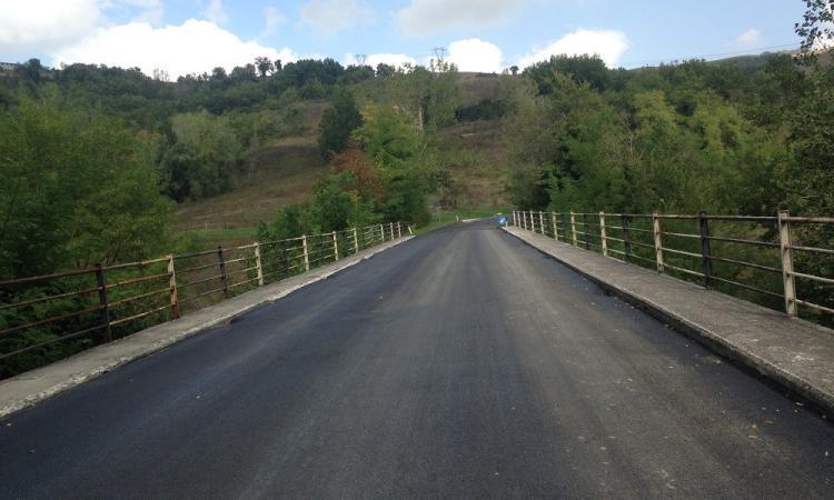 Provinciale Gualdo - Sant'Angelo: completati lavori per 180mila euro