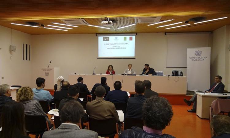 Macerata, Confindustria ospita una delegazione imprenditoriale dal Pakistan
