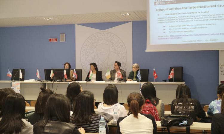 L'Università di Macerata accoglie gli studenti internazionali