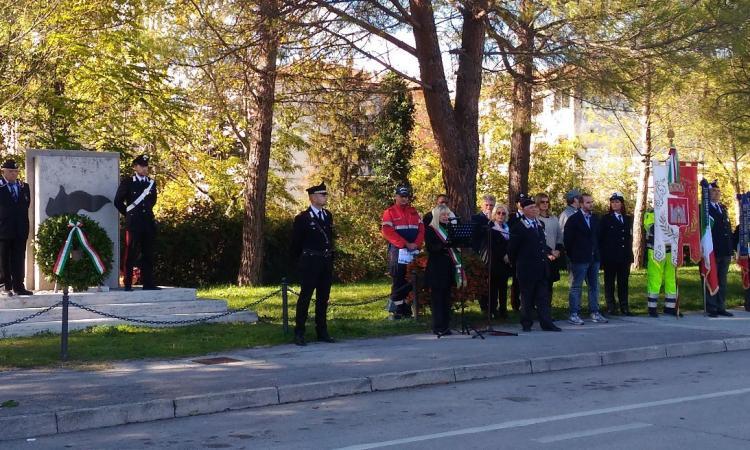 San Severino, celebrata la giornata ricordo dei Caduti militari e civili nelle missioni internazionali di pace