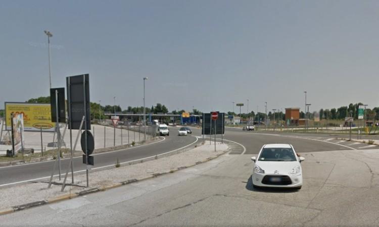 Completati i lavori della rotatoria allo svincolo di Morrovalle della superstrada