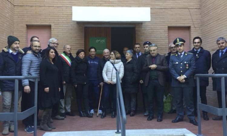 Valcimarra, solidarietà:  l'Enel consegna 4 appartamenti a 4 famiglie terremotate