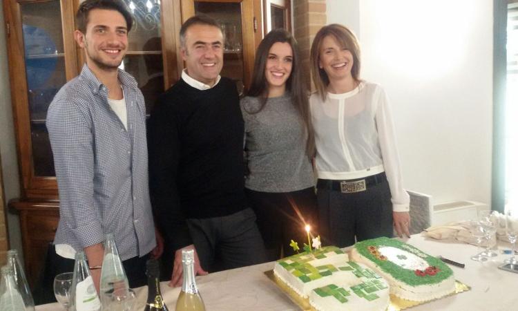 Festa a Caldarola per i 50 anni di Michele Gatti