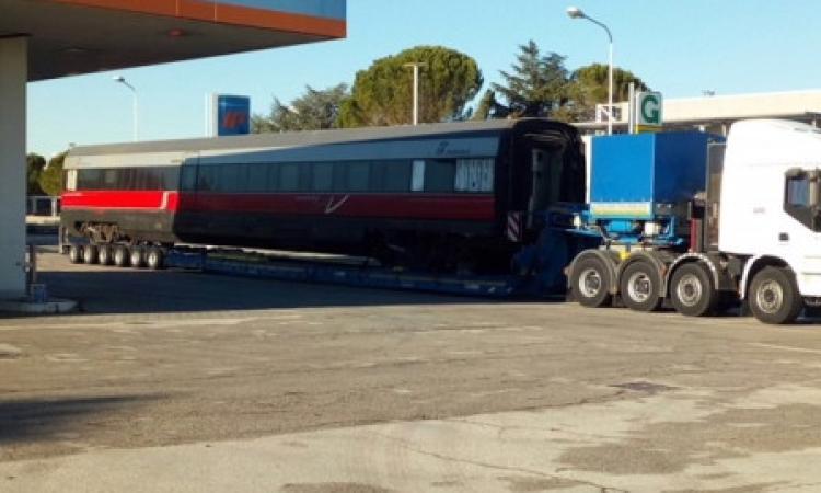 Tolentino, l'autogrill in contrada Rancia si trasforma in stazione