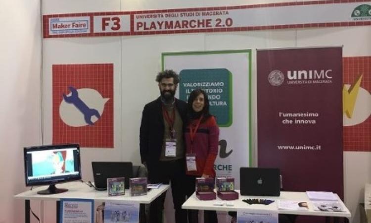 L'app PlayMarche conquista la Maker Faire di Roma