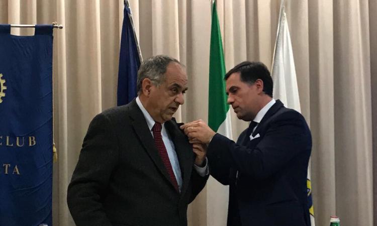 Rotary Club di Macerata: il rettore Adornato è socio onorario