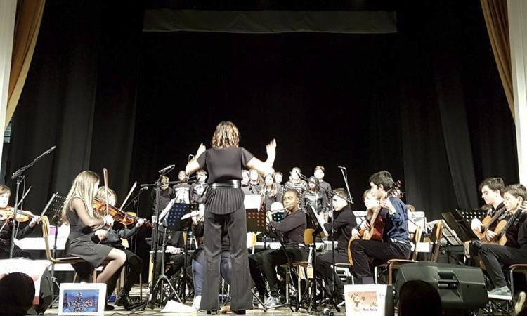 Macerata, ben riuscito il concerto di Natale dell'orchestra del Convitto