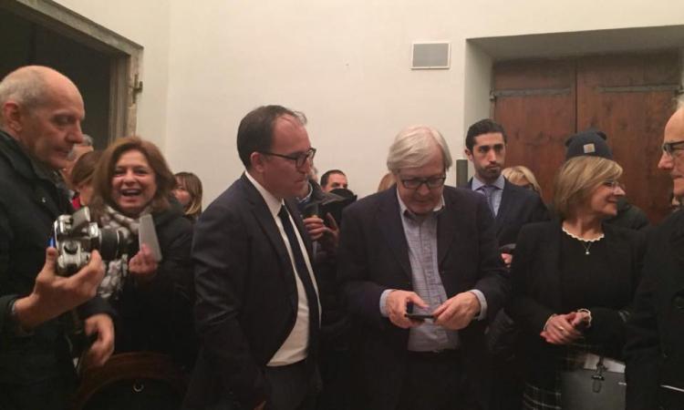 """Recanati, inaugurata la mostra """"Lorenzo Lotto dialoga con Giacomo Leopardi"""""""