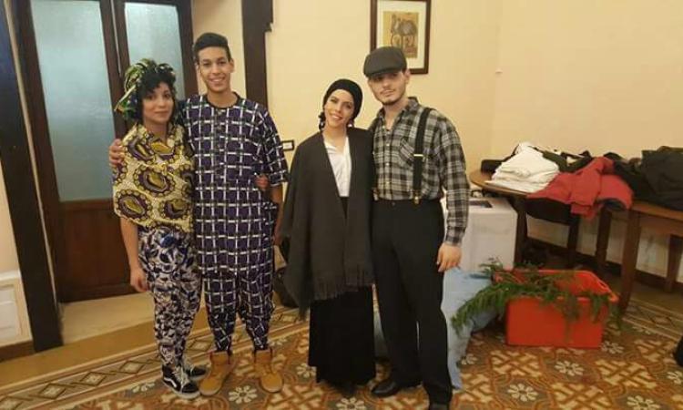 Pranzo di Natale multietnico per l'alberghiero di Cingoli