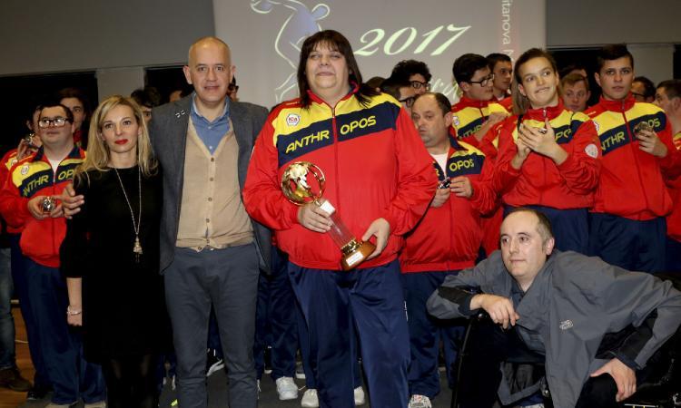 Civitanova, l''atleta dell'anno ad Assunta Legnante. Squadra dell'anno: Lube Civitanova e società del biennio Anthropos