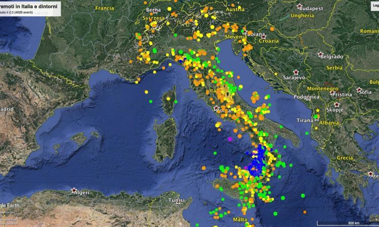 """Sequenza sismica in Italia centrale: 37mila terremoti nel 2017. Amato (Ingv): """"Mi auguro un 2018 all'insegna della mitigazione del rischio"""""""