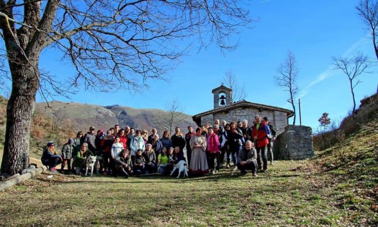 """Serravalle di Chienti, iniziate le escursioni del progetto """"La Rete dell'Appennino"""""""