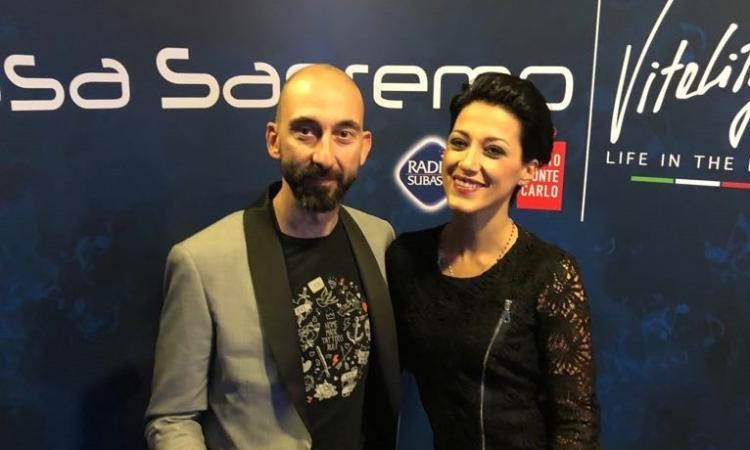 Il parrucchiere Roberto Acquaroli di Montecosaro è a Sanremo