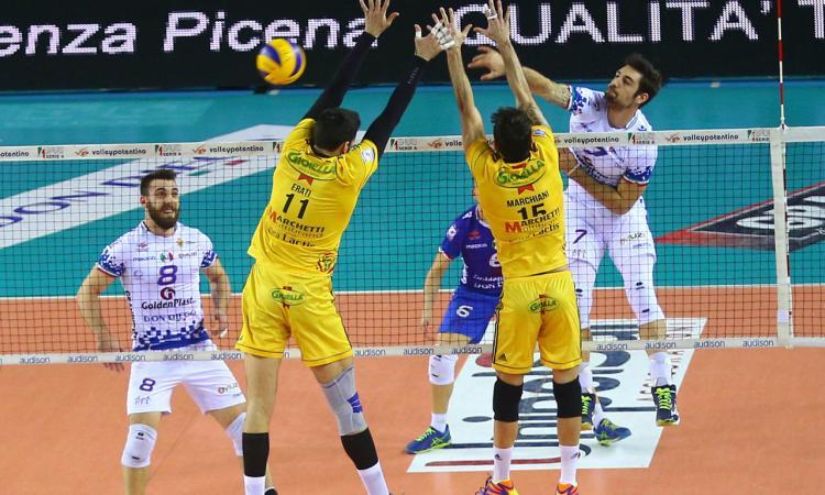 """Volley Potentino, lo schiacciatore Cristofaletti: """"Bravi a non mollare mai!"""""""